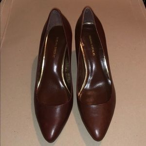 Banana Republic brown heels size 6.5